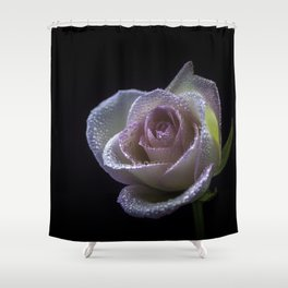 flower photography by Carlos Quintero Shower Curtain