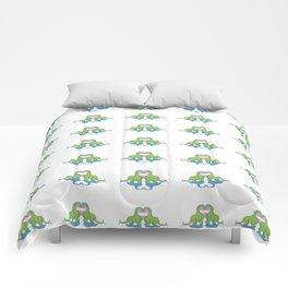 Trans Pride - Dino Love Comforters