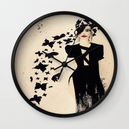 The Black Beautiful Wall Clock