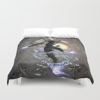 avatar Duvet Covers featuring The Avatar by Toronto Sol