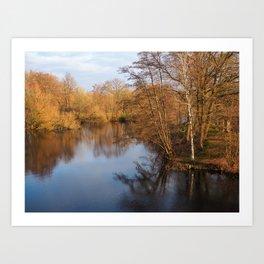 Voorveldse Polder City Park, Utrecht Art Print