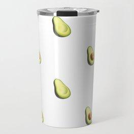'ave an Avo! - White Print Travel Mug
