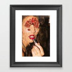 i'm only human Framed Art Print