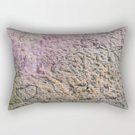 textured wall for background and texture Rectangular Pillow