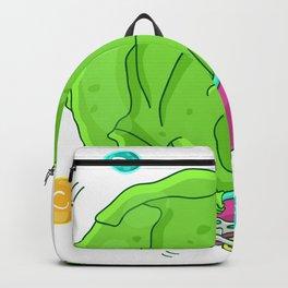 Skating Cabbage Backpack