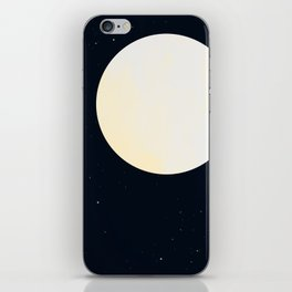 Bright Moon iPhone Skin