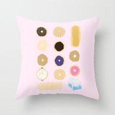 Liz Lemon's Donut Order Throw Pillow