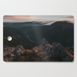Evening Mood - Landscape and Nature Photography Cutting Board