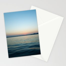 Subtle sunset Stationery Cards