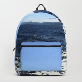 Dive deep in the blue beauty! Backpack