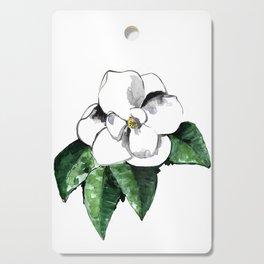 White magnolia Cutting Board