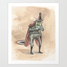 The Cockroach from the Bug Fairies series Art Print