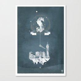 Sick (logo) Canvas Print