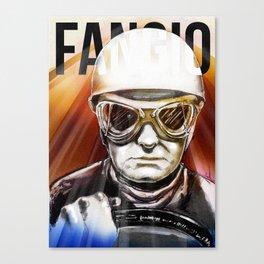 Fangio Canvas Print