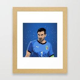Buffon Italia Framed Art Print