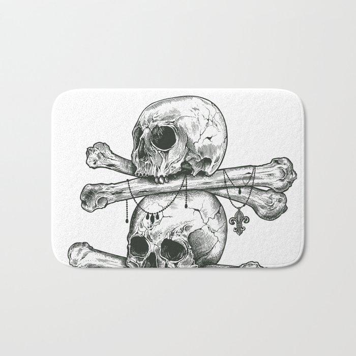 Skull Totem Bath Mat