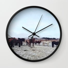 Group life Wall Clock