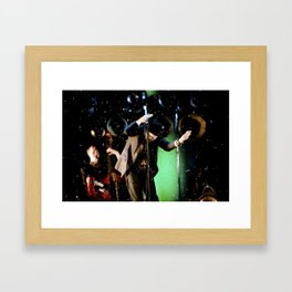 Tom Waits - Make it rain Framed Art Print