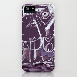 On Your Knees iPhone Case