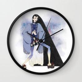 Indigo Tokyo Wall Clock