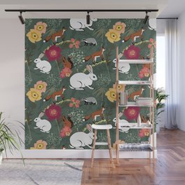 Woodland Excitement Wall Mural