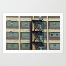 Abandoned Building Art Print