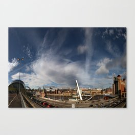 Gateshead Quayside Canvas Print
