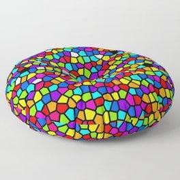 Drops Of Rainbow Floor Pillow