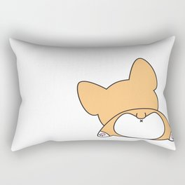 Corgi Butt Rectangular Pillow