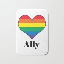 Ally Heart Bath Mat