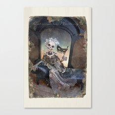 Rucus Studio Catrina In Waiting Canvas Print