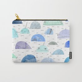 Whale party Carry-All Pouch