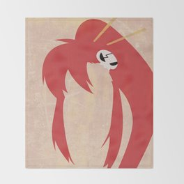 Minimalist Yoko Throw Blanket