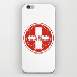 Switzerland Schweizer Nati, La Nati, Squadra nazionale ~Group E~ iPhone Skin