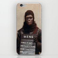 planet of the apes iPhone & iPod Skins featuring Planet of the Apes  by Rotton Cotton Candy