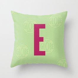 E Ticket Throw Pillow