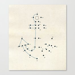 Connect the Dots #2 Canvas Print