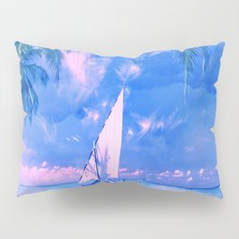 Tropical yachting Pillow Sham