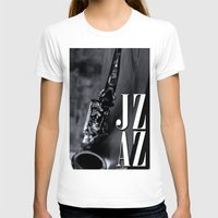 jazz T-shirts featuring Jazz by MaNia Creations