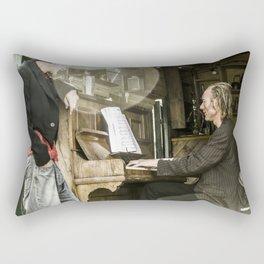 British Travelers Rectangular Pillow