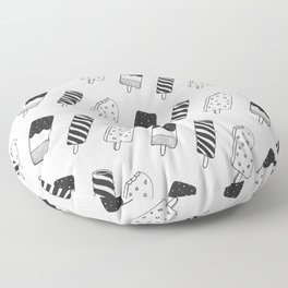 Summer Ice Lollies Floor Pillow