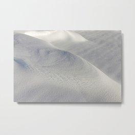 Deep snowdrifts Metal Print