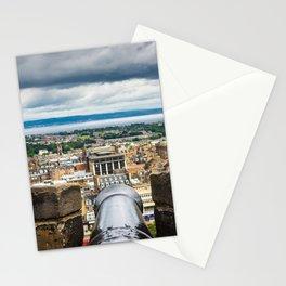 View of Edinburgh, Scotland from Edinburgh Castle Stationery Cards