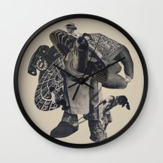 Do The Sprawl Wall Clock