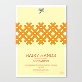Hairy Hands Canvas Print