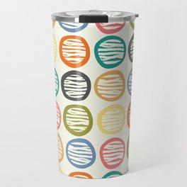 Crayon Abstract Travel Mug