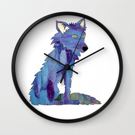Summer in the Village: Coyote Wall Clock