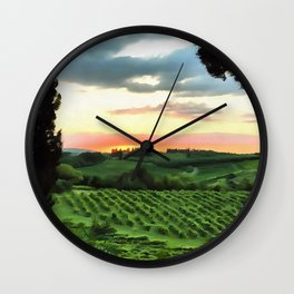 Brighter Side Wall Clock