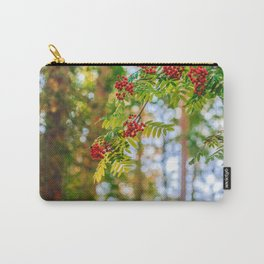 Bunches of rowan berries Carry-All Pouch