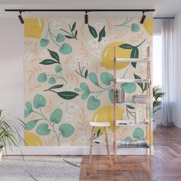 Lemon Party Wall Mural